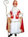Costume de Saint Nicolas velours luxe