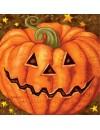Serviettes citrouille halloween en papier idéale pour créer votre propre décoration de table d'halloween