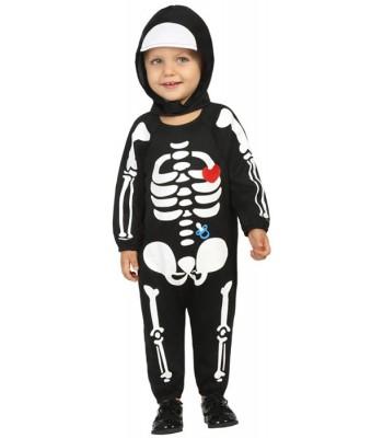 Déguisement bébé squelette