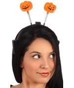 Apportez une touche festive à tous vos déguisements halloween grâce à ce serre-tête citrouille