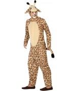 Déguisement de girafe adulte, ce costume animal convient aussi bien aux hommes qu'aux femmes