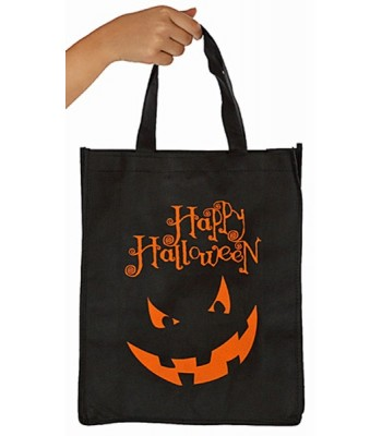 Sac à bonbons Halloween noir