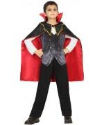 déguisement de vampire de l'ombre pour garçons de 3 à 12 ans - monstres et vampires halloween