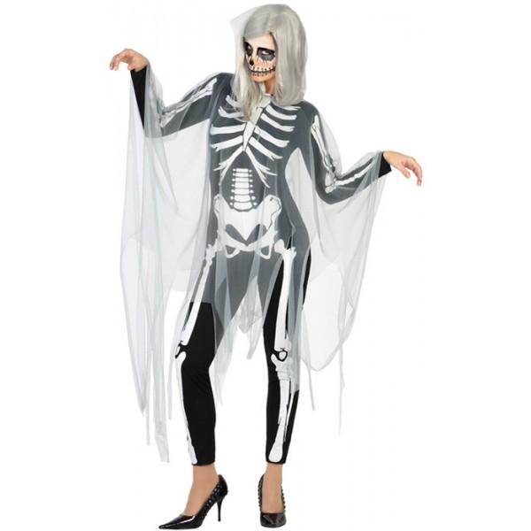 d guisement squelette fant me femme la magie du d guisement squelettes et fantomes halloween. Black Bedroom Furniture Sets. Home Design Ideas