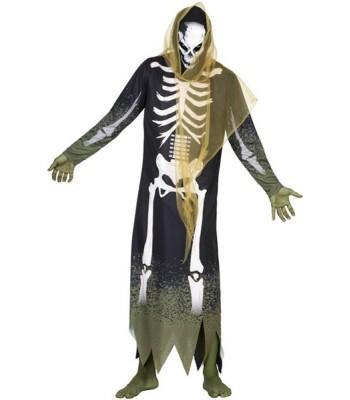 Déguisement zombie squelette halloween