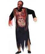 Déguisement de zombie pour homme avec masque incorporé - déguisements halloween