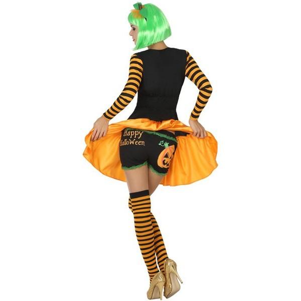 D guisement citrouille happy halloween femme la magie du d guisement boutique en ligne - Deguisement de citrouille ...