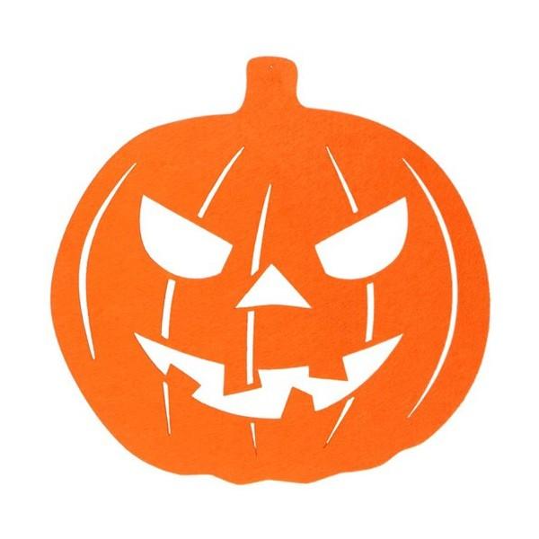 Accessoires halloween citrouille - Decoration citrouille pour halloween ...