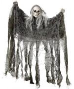 Squelette en guenille à suspendre, décoration Halloween - WA314A