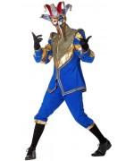 Déguisement vénitien pour homme avec pantalon et veste - Carnaval de Venise