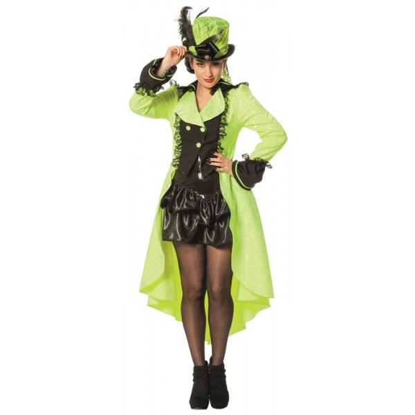 d guisement chapelier femme vert neon la magie du deguisement costume originaux et fluo. Black Bedroom Furniture Sets. Home Design Ideas