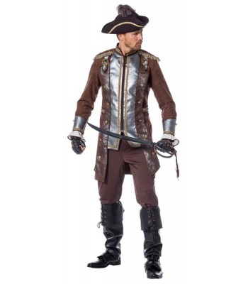 Déguisement pirate homme luxe