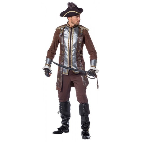 D guisement pirate luxe homme la magie du d guisement vente en ligne de costumes de pirate - Maquillage pirate homme ...