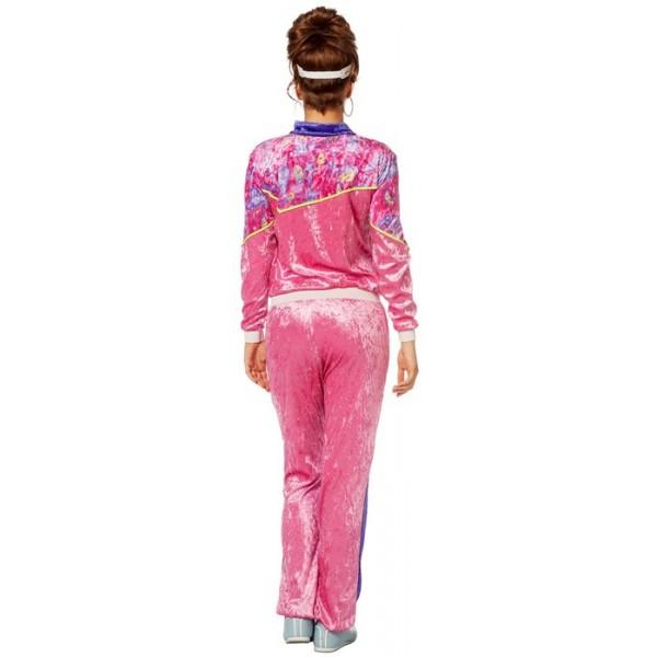 Veste jogging femme rose