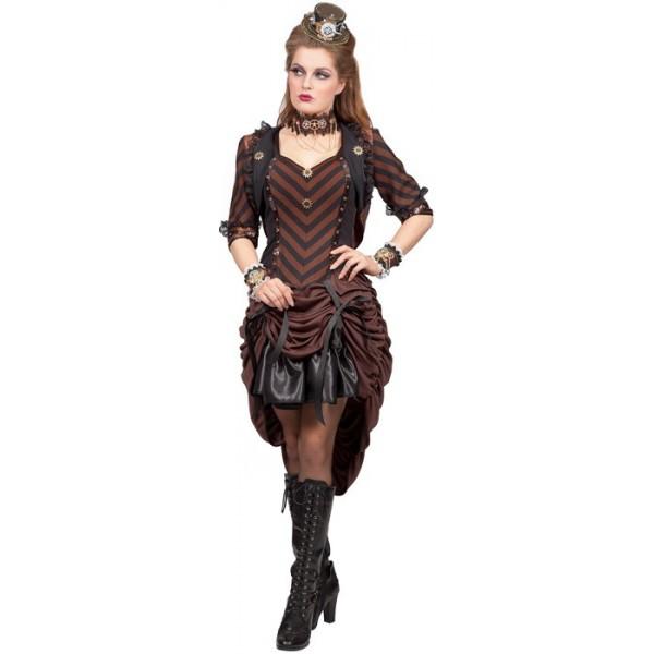 Robe steampunk femme pas cher