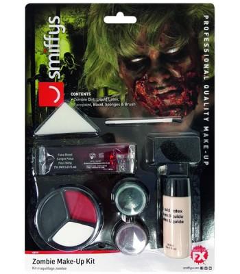 Kit de maquillage zombie avec latex