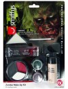 Kit de maquillage zombie avec latex