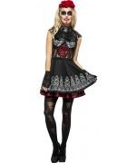 déguisement femme mexicaine, jour des morts - costume halloween