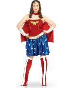 Déguisement Wonder Woman grande taille, XXL