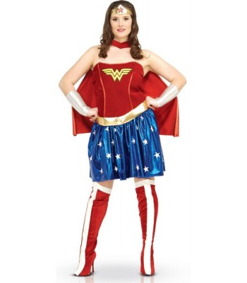 Déguisement Wonder Woman grande taille