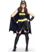 Déguisement Batgirl en taille XXL pour femme, incarnez la célèbre héroïne des comics Batman