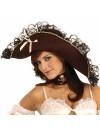 Chapeau de pirate, déguisement femme des mers