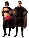 Kit déguisement super héros avec cape, masque et manchettes