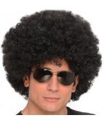 Perruque afro noire années 70, adoptez la coupe afro