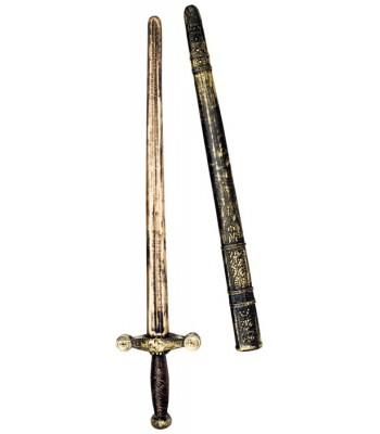 Épée chevalier avec fourreau