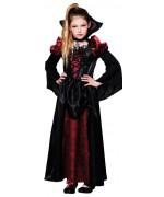 Déguisement de reine des vampires pour fille de 4 à 12 ans