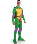 Déguisement de Donatello Tortue Ninja adulte avec combinaison et masque - personnage de dessin animé
