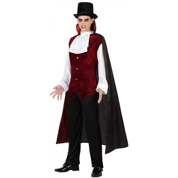 d guisement vampire l gant adulte la magie du deguisement achat vente costumes halloween. Black Bedroom Furniture Sets. Home Design Ideas