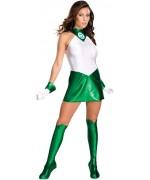 Déguisement Green Lantern femme - super héros DC Comics