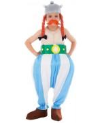 Déguisement Obélix pour enfant de 3 à 12 ans avec casque et moustache - personnage de bande dessinée