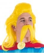 Set de perruque et moustache Assurancetourix - Asterix et Obelix
