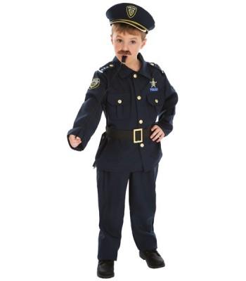 Déguisement de policier enfant luxe