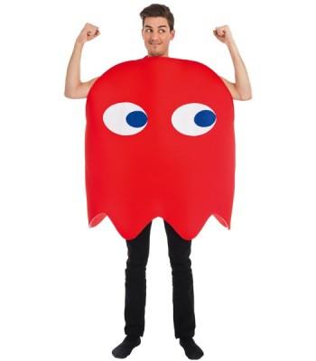 Déguisement fantome rouge pacman