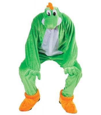Déguisement super dragon vert adulte