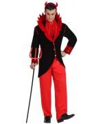 deguisement diable élégant adulte - costume halloween
