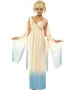 deguisement déesse romaine bleue adulte - BZ165S