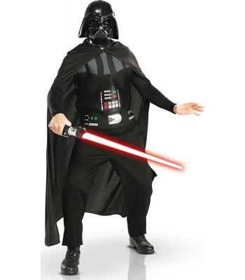 Kit déguisement Dark Vador avec sabre laser adulte