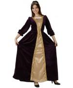 Déguisement de princesse médiévale pour femme