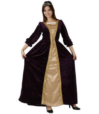 Déguisement princesse médiévale adulte