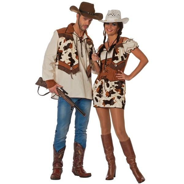 d guisement cow boy vache homme la magie du d guisement costume et accessoires farwest et western. Black Bedroom Furniture Sets. Home Design Ideas