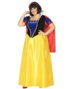 Déguisement princesse blanche neige grande taille, incarnez une véritable princesse de dessin animé Disney