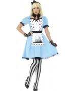 Déguisement Alice gothique adulte