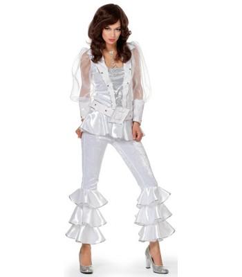 7fffc0bf92a0 Déguisement disco blanc femme luxe - la magie du déguisement ...