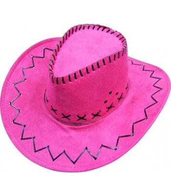 Chapeau de cowboy rose