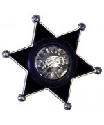 Étoile de shérif en PVC