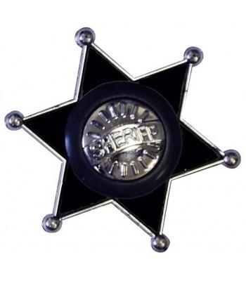 Étoile de shérif PVC